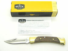 BUCK 0055BRS 055 WALNUT LOCKBACK POCKET KNIFE THE 55 SMALL 110 FOLDING HUNTER FB