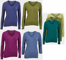 Marks and Spencer Women's Thin Knit Cotton Jumpers & Cardigans