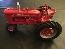 McCormick - Deering Farmall M Tractor Diecast, 1:8 Scale Models with SIGNATURE