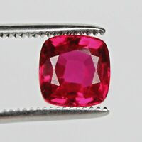 Mozambique 31.00 Ct. Blood Red Ruby Top Quality Fine Square Cut Loose Gemstone