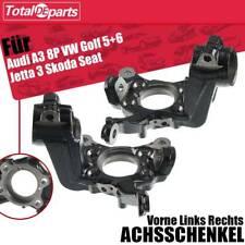 2x Achsschenkel Radaufhängung Vorne L+R für Audi A3 VW Golf 5+6 Jetta Seat Skoda