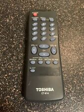 TOSHIBA CT-814 TV VIDEO Remote Control GENUINE OEM - FAST SHIP