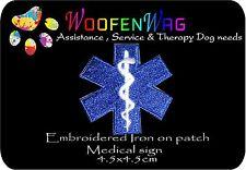 assistance dog patch K9 Embroidered Service Dog Medical sign