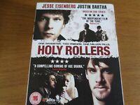 Holy Rollers Blu Ray (2011) Jessie Eisenburg Justin Bartha New Sealed In Sleeve