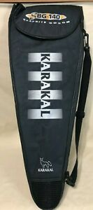 Karakal SBG 140 Graphite Boron Squash Racquet w/Case - Midsize Pre-Owned