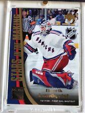 2005 - 2006 Henrik Lundqvist Stars In The Making Upper Deck Series 2 Hockey Card