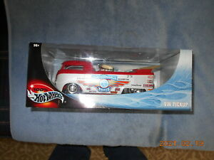 HOT WHEELS VW DRAG PICKUP IN 1/18 SCALE, NEW IN FACTORY SEALED BOX!
