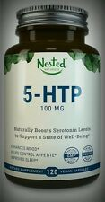 5-HTP 100mg Naturally Boost Serotonin Mood Sleep Anxiety Stress 120 Day Supply