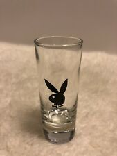 PLAYBOY BUNNY  SHOT GLASS TOOTHPICK HOLDER TALL SHOOTER FATHERS BIRTH DAY GIFT