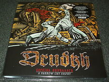 DRUDKH-A FURROW CUT SHORT-2015 2xLP ORANGE/BLACK MARBLE VINYL-LIMITED TO 300-NEW
