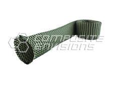 "Carbon Fiber Made with Kevlar Fabric Sleeve 0.5""/12.70mm Diameter 7.5oz 254gsm"