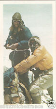 Edmund Percival Hillary Sherpa Tensing Norgay expedition Everest IMAGE CARD 1982