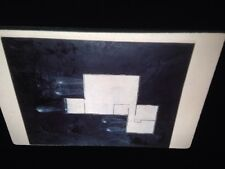 "Guillermo Kuitca ""House Plan W/ Tear Drop"" Argentinean Art 35mm Slide"