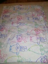 Dream Works TROLLS Twin Size Flat Bed Sheet  Bedding Fabric Crafts