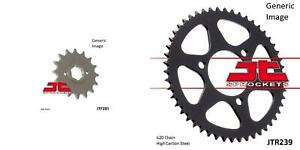 Front and Rear Steel Sprocket Kit for OffRoad HONDA XR500R 1981-1982