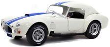 SOLIDO 1/18 1965 Shelby Cobra 427 MKII Wimbledon White With Hard Top MIB