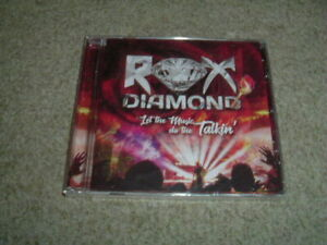 ROX DIAMOND - LET THE MUSIC DO THE TALKIN' - CD ALBUM - BRAND NEW