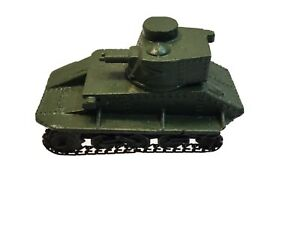 Dinky Light Tank with Chains All Original