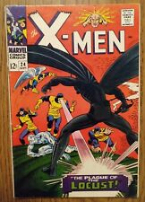 New listing Marvel X-Men Comic Book 16 1st Appearance Locust Silver Age 1966