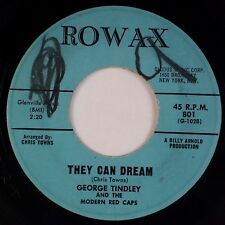 GEORGE TINDLEY & MODERN RED CAPS: Hear them laughing ROWAX Northern Soul 45 MP3