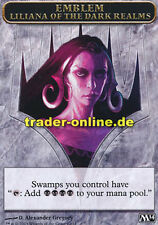 Token - Emblem Liliana of the Dark Realms (Spielstein - Liliana aus dem Dunkelre