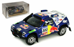 Spark S0826 Volkswagen Touareg #303 Winner Dakar 2010 - Carlos Sainz 1/43 Scale