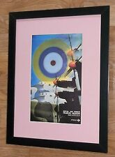 London Transport RAF framed print -12''x16'', London Underground wall art