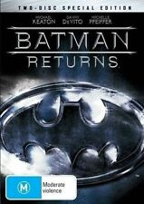 BATMAN RETURNS (2-DISC SPECIAL EDITION) **NEW & SEALED** DVD R4 Michael Keaton
