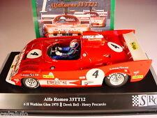 SLOT SRC Alfa Romeo 33TT12 6H Watkins Glen 1975   New 1/32 Ref. 007 01