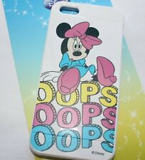Apple iPhone 5 5S SE - SOFT SILICONE RUBBER SKIN CASE Disney Pink Minnie Mouse