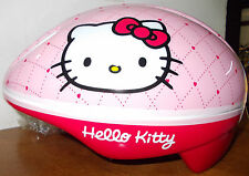 CASCO BICI / BICICLETTA / PATTINI / SKATEBOARD BIMBA HELLO KITTY BIKE