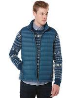ORIGINAL PENGUIN Men's Packable Major Blue Down Puffer Vest Jacket ~ XL NWT $150