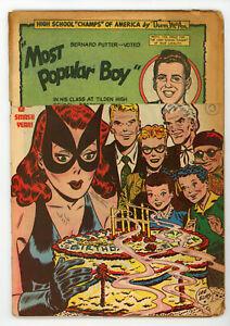 JERRY WEIST ESTATE: BLACK CAT COMICS #11 & 12 (Harvey 1948) title stripped