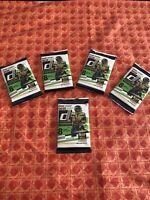 5 Packs of 2020 PANINI Donruss Football,  8 CARDS In a Pack. Joe Burrow Rookie?
