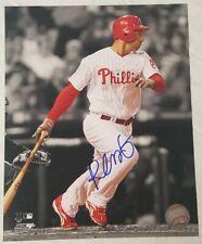 Raul Ibanez Signed 8x10 Photo (Mariners, Phillies) COA