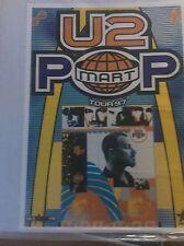 U2 Pop Mart 1997 Tour Original Vintage Pop Rock Promo Music Poster Memorabilia
