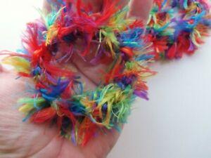 Cat ferret recycled ring toys handmade
