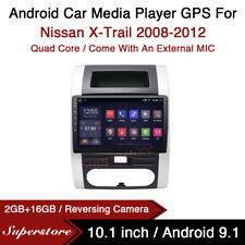 """10.1"""" Android 9.1 Car Stereo Media Player GPS Head Unit For Nissan X-Trail 08-12"""