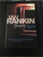 """First Edition Ian Rankin """"Doors Open"""""""