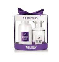 The Body Shop White Musk Gift Set with Eau de Toilette 30ml Wash Lotion XMAS