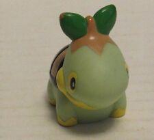 2006 Pokemon Finger Puppet Turtwig v2 Figure Catch Them All Nintendo Bandai