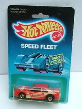 Hot Wheels MOC Speed Fleet 1988 Red Thunderbird Stocker Motorcraft New Model