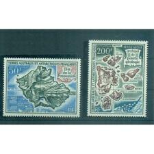 T.A.A.F. 1970 - Mi. n. 58/59 - Cartes