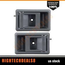For 95-00 Toyota Pickup 4Runner Door Handles 2Pcs Right&Left Side Interior Gray