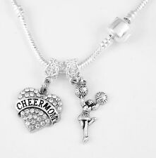 Cheer Mom Necklace Huge sale Cheer Mom chain Gift Cheering chain Cheer Mom