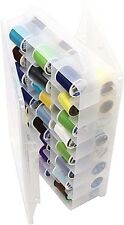 Thread Organizer Storage Sewing Floss Spools Box Perfect Carry Handle NEW