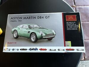 *Busted Front Ends*CMC 1/18 GREEN 1961 ASTON MARTIN DB4 GT ZAGATO M-132