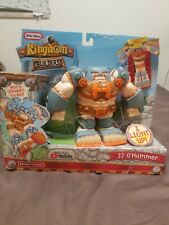 Little Tikes Kingdom Builders Jj O'Hammer Deluxe Action Figure New J.J. Hammer