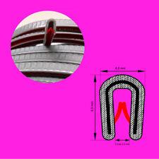 Kantenschutzprofil Farbe silbergrau für KB 0,5-2 mm Kantenschutz Kederband