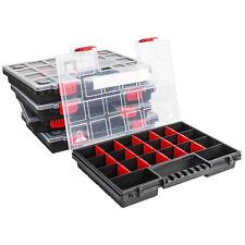 Sortimentskasten Kunststoff x5 Sortimentsbox NORS14 Rot Sortierbox